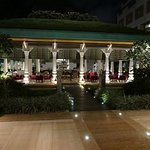 The Lotus Pavilion in a courtyard of the ITC Gardenia