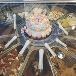 地中海冰淇淋店照片