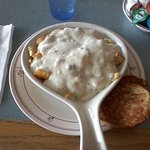 Sid's Country Skillet with grilled English muffin