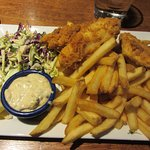 Blue Angel Cafe - Fish and Chips