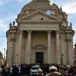 Funeral at Santa Maria in Montesanto