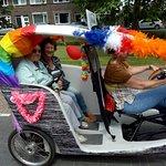 Fiets Taxi Gouda 사진