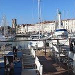 Notre terrasse panoramique sur le vieux port de La Rochelle