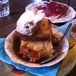 Chomeur pudding a la mode - a working person's dessert