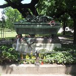 The grave of the Hungarian poet Janos Arany