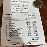 TAPERÍA O CANARIO – fénykép