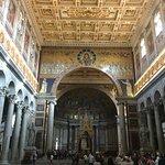 Inside St. Paul's Basilica
