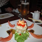 Crab appetizer for two