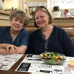 Joan and Elaine, Lunch at The Farmers Table