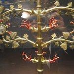 Particolare dell'Albero di corallo e argento