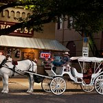 Carriage Ride Fort Worth Stockyards Courtesy of EliVega.net