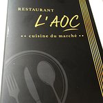 The cover of the menu