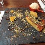 the polenta cake