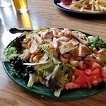 Huge chicken salad ~ tasty