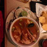 seafood soup Mexican style