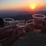 Beautiful sunset - champagne providec