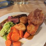 Roast beef recommended