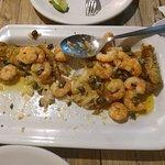 Parte de prato de tilápia que comemos (esqueci de tirar foto antes)