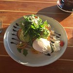 Smashed Avo with a poached egg