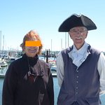 Greg in costume for Digby tour