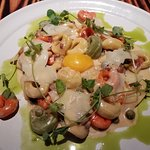 This was a delicious tortellini dish - A special, not on the menu!