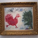 """Painting """"The Red Rooster"""""""