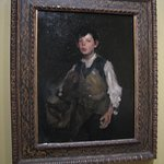 """Painting """"The Whistling Boy"""" by Duveneck"""