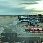 Gatwick Airport- restaurant view