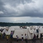 Warrior encampment