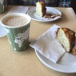 Coffee and banana muffin