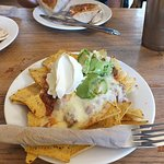 nachos with cheese and mince