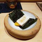 Mullet Roe with Mochi