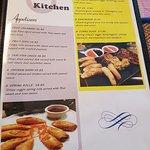 M Thai Kitchen menu