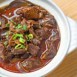Braised Beef with Glass Noodles