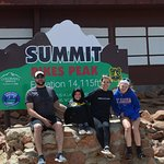 Make sure to get the Summit picture!