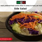 We create and serve side salad add to our at brizio pizza! Come and enjoy at Briziopizza. Visit