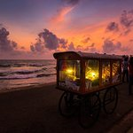 Isso Wade ( Mobile Food Vendor cart) at Galle Face