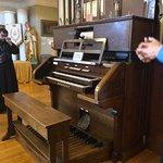 Funeral parlor organ