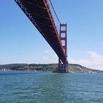 Passing under the bridge!