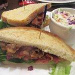 BLT and Cole Slaw, Sage Cafe, Barona Resort, Lakeside, Ca