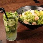 Shrimp and Avocado salads