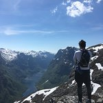 The top of the Nærøyfjord, feels like the top of the world!