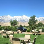 Nice Outdoor Seating Area, Best Western Plus Frontier Motel, Lone Pine, Ca