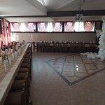 Большой закрытый зал для праздников !