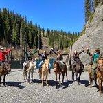 Horseback riding trip to Kaindy Lake with private guide in Kazakhstan www.kolsaitour.com