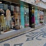 Fashion shops along the streets