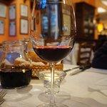 vino aglianico della casa