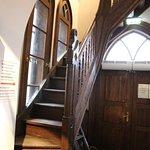 """Даугавпилс, крепость, лестница на второй этаж """"водокачки"""""""