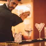 Barman in action!