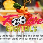 Footie Cocktails : Enjoy the football world cup and cheer for your favourite team along with our